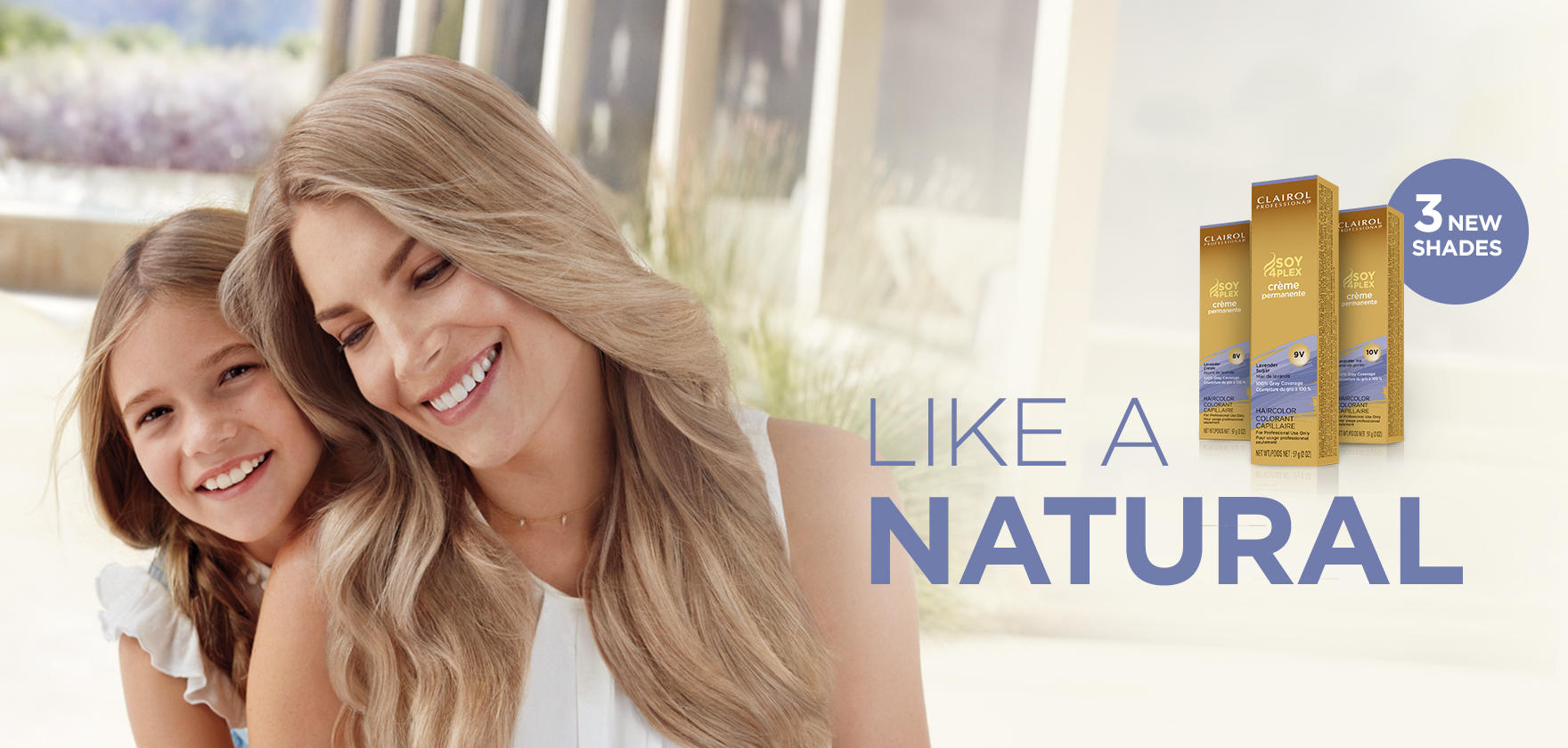 Professional hair color and care from clairol professional like a natural lavender blonde crme permanente nvjuhfo Images