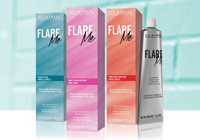 Clairol Professional Flare Collection