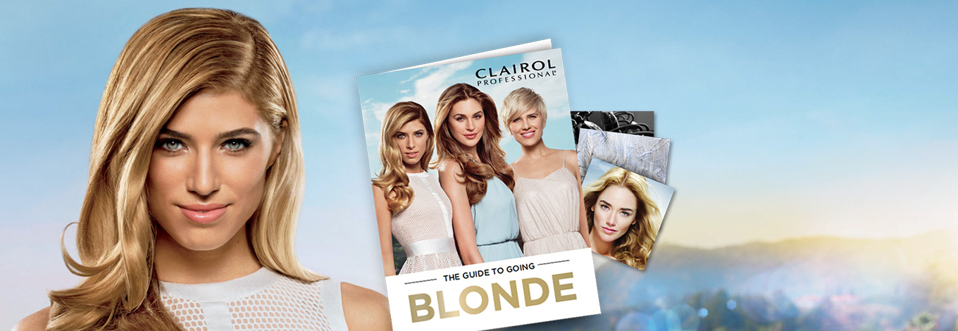 TAKE YOUR BLONDE TO NEW HEIGHTS - GO BLONDE