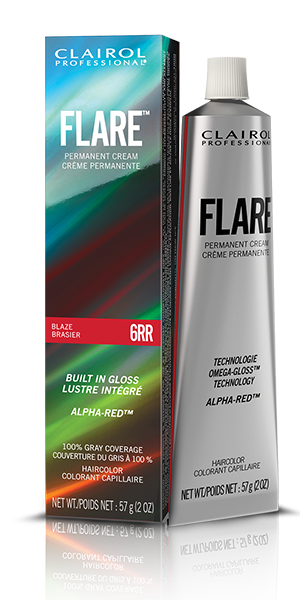 Clairol Professional Flare Pemanent Hair Color Collection