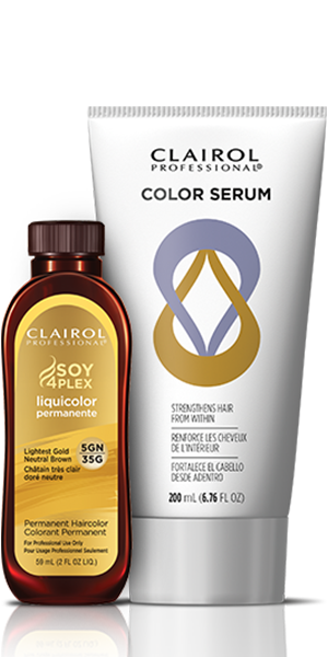 Clairol Professional Soy4Plex and Color Serum