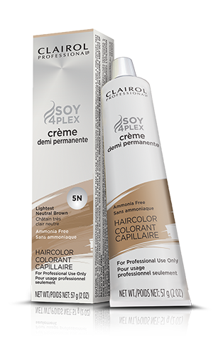 our demi permanente formula delivers color so luminous it reflects exclusive deep conditioning soy4plex formula boosts shine up to 65 and nourishes and - Coloration Demi Permanente