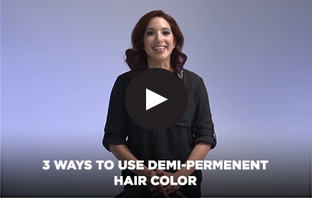 3 Ways to Use Demi-Permanent Hair Color by Clairol Professional Online Education