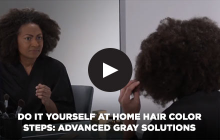 Do It Yourself Easy at Home Hair Color Steps: Advanced Gray Solution by Clairol Professional