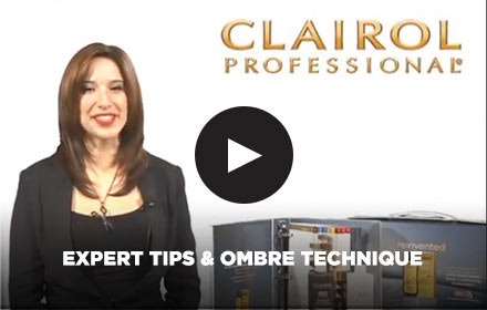 Expert Tips & Ombre Technique: Clairol Professional Online Education