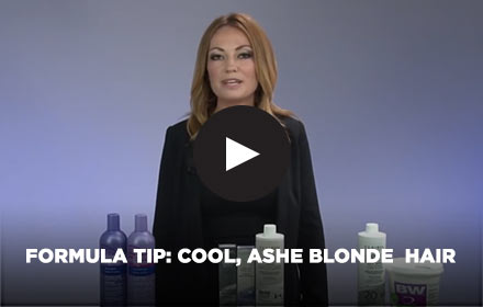 Formula Tip: Cool, Ash Blonde Hair by Clairol Professional Online Education