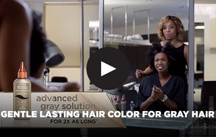 Gentle Lasting Hair Color for Gray Hair by Clairol Pro Celebrity Stylist Kiyah Wright