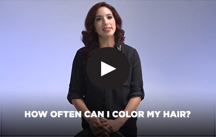 How Often Can I Color My Hair? by Clairol Professional Online Education