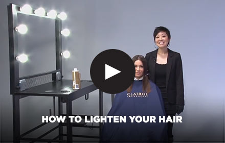 How to Lighten Your Hair by Clairol Professional Online Education