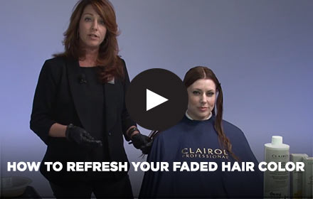 How to Refresh Faded Hair Color by Clairol Professional Online Education