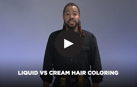 Liquid vs Crème Hair Coloring by Clairol Professional Online Education