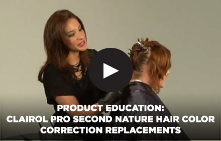 Product Education: Clairol Pro Second Nature Hair Color Correction Replacements