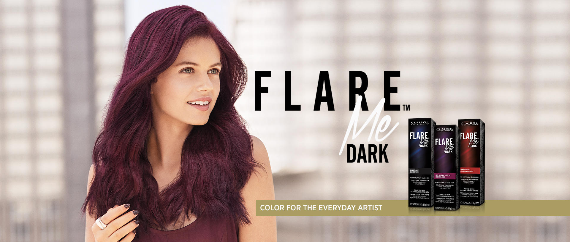 Clairol Professional FLARE ME DARK PERMANENT CREAM COLOR